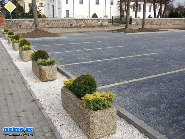 inwestycje, Remont parkingu zakończony - zdjęcie, fotografia