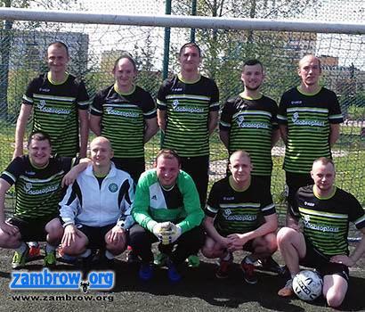 piłka nożna futsal, Awans amatorskiej drużyny piłki nożnej Zambrowa - zdjęcie, fotografia