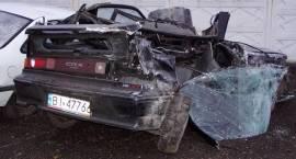 Dwie osoby zginęły w wypadku pod Zambrowem