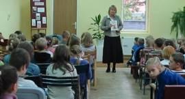 Przedszkolaki spotkały się z autorką bajek