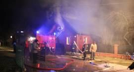 Pożar domu w Kołakach Kościelnych [video]