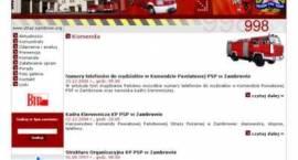 Zambrowska Straż Pożarna w Internecie