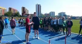 Gimnazjaliści rywalizowali w lekkiej atletyce