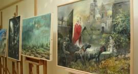 Malarstwo Dąbkowskiego w galerii MOK