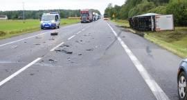 Wypadek na DK8 [foto]