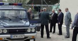 Nowy policyjny samochód terenowy