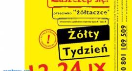 """XV jesienna edycja akcji """"Żółty Tydzień"""" trwa!"""