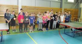Wyłoniono Mistrzów Powiatu Zambrowskiego w tenisie stołowym