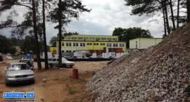 Zaglądamy na plac budowy przedszkola i stołówki w Szumowie [foto]