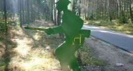 Uroczystości pod pomnikiem w Wądołkach