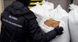 KAS przechwyciła 100 kg nielegalnego tytoniu