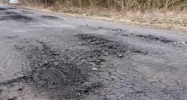Zły stan dróg w powiecie zambrowskim [foto+video]