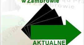 PUP: Oferty pracy w Zambrowie z 05.02.2018 r.