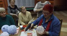 Bożonarodzeniowe warsztaty rękodzieła artystycznego w gminie Szumowo