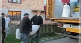 Kolejna pomoc z Zambrowa trafi do rodziny dotkniętej powodzią
