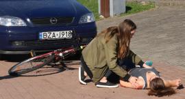 Rowerzysta pod kołami samochodu [foto+video]