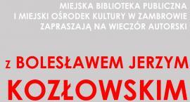 MBP zaprasza na spotkanie autorskie z Bolesławem Jerzym Kozłowskim