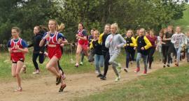 Sukces dziewcząt z Wiśniewa w biegach przełajowych