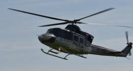Policyjny helikopter nad Zambrowem. Wiemy, jakie działania były prowadzone