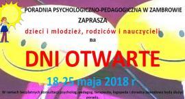 Dni otwarte w Poradni Psychologiczno-Pedagogicznej