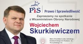 """Zapraszamy na spotkanie z cyklu """"Polska jest jedna"""". Gościem będzie wiceszef MON Wojciech Skurkiewic"""