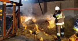 Pożar stodoły w Mężeninie [foto]