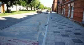 Trwa przebudowa drogi wewnętrznej przy ul. Magazynowej [foto]