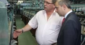 Przewodniczący SLD Grzegorz Napieralski z wizytą w Zambrowie