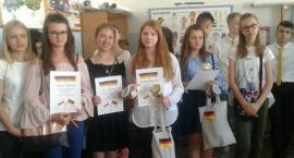 """Sukces uczennic MG1 w konkursie """"Deutsche Sprichwörter"""""""