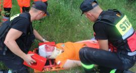 Podlaskie manewry medyczne strażaków w Czerwonym Borze [foto+video]