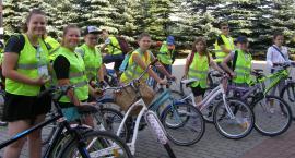 Uczniowie ze Starego Laskowca na wycieczce rowerowej
