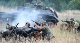 Inscenizacja historyczna bitwy w Czerwonym Borze [foto]