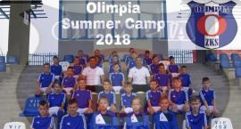 Młodzi piłkarze na Olimpia Summer Camp 2018