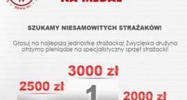 """Jednostki OSP z powiatu zambrowskiego walczą w konkursie """"Strażacy na medal"""""""
