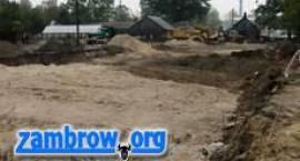Październikowe remonty dróg w Zambrowie - raport