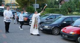Mieszkańcy Zambrowa poświęcili auta [foto]