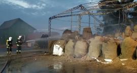 Pożar mączki kostnej w zakładzie utylizacji w gminie Rutki