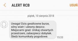 Dostałeś sms-a od ALERT RCB? Ruszył pilotażowy program ostrzegania