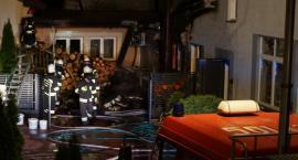 Pożar w Krajewie-Korytkach. Do akcji stanęło 27 strażaków [foto+video]