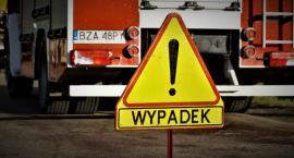 Śmiertelny wypadek na DK66. Droga do Wysokiego Mazowieckiego zablokowana [aktualizacja]