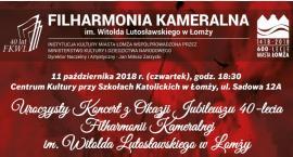 Uroczystość 40-lecia filharmonii łomżyńskiej