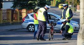 Wypadek na ul. Wyszyńskiego. Rowerzysta przewieziony do szpitala [foto]