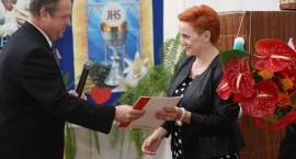 Pożegnanie dyrektora w SOSW w Długoborzu [foto]