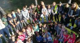 Święto Pieczonego Ziemniaka i wycieczka rowerowa uczniów SP w Starym Laskowcu