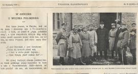 """""""W gościnie u Wojska Polskiego"""" - o Zambrowie w Tygodniku Ilustrowanym z 1917 roku"""