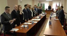 I sesja Rady Gminy Zambrów. Wybrano przewodniczącego i wiceprzewodniczących