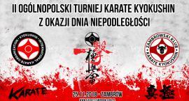 Zapraszamy na II Ogólnopolski Turniej Karate Kyokushin