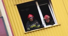 Pożar mieszkania przy ul. Papieża Jana Pawła II [foto+video]
