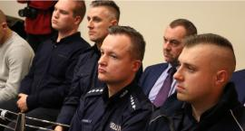 Funkcjonariusze policji spotkali się z mieszkańcami powiatu zambrowskiego [foto+video]