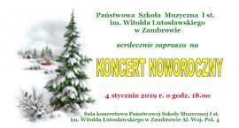 Zapraszamy na Koncert Noworoczny